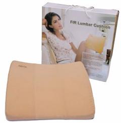 Heated Lumbar Support Cushion - Far Infrared Rays (FIR ...